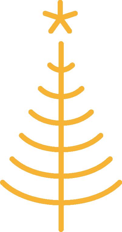 Grafisk juletre